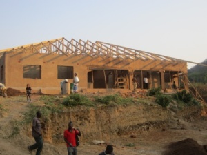 building STEKA's permanent residence Fall 2012